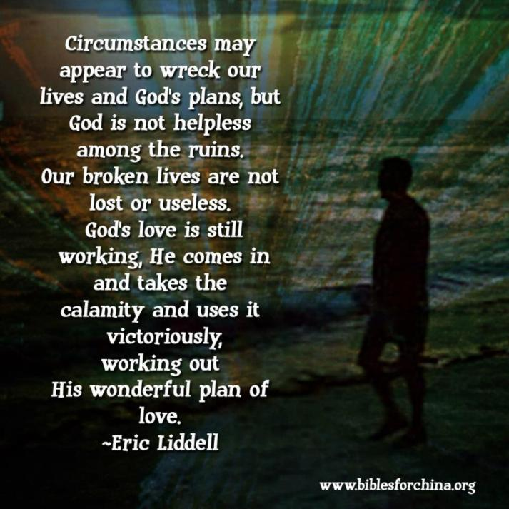 Eric Liddel Quote by BiblesforChina.org