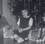 Kathy on Christmas Eve 1964