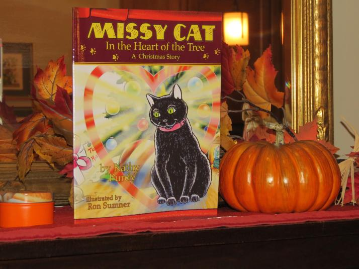 Missy Cat in the Heart of the Tree is finally available in print! This arrived yesterday. Be sure to get your order in today!