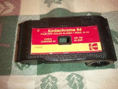 2013-01-15 Old unprocessed film cartridge