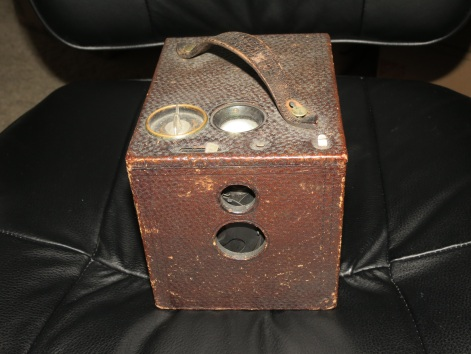 Box Camera by Eastman Kodak - inherited from the Long Family