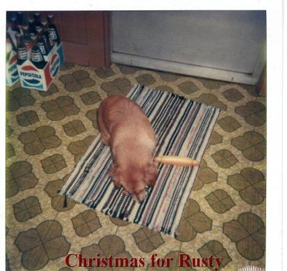 Christmas for Rusty 1980