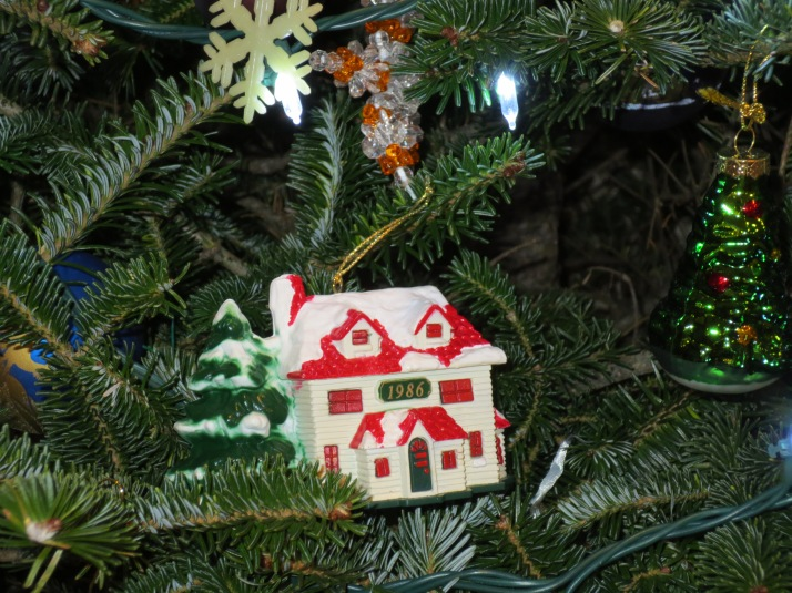 Christmas Ornaments 2012 Ornament we bought in honor of our first house.