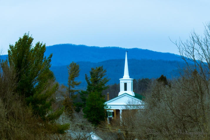 Fincastle, VA Church by Kathie T. Kingery