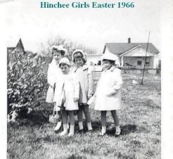 Hinchee Cousins at Granny Hinchee's House