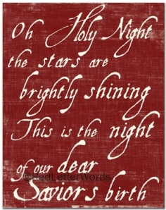O Holy Night e8206b3dd0aa2cbb281ee013b01a1fa6