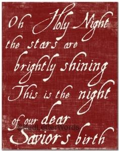 O Holy Night e8206b3dd0aa2cbb281ee013b01a1fa6