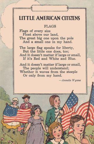 8d53e0a71bf50339ebfba5aeac5b1e66Little American Flag Poem