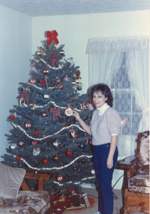 Our First Christmas Tree 1985