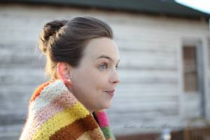 Emily Baker as Grandma Minnix by Kathie Kingrey