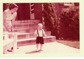"""""""Heel, toe, heel, toe, heel, toe. Look Mommy, I'm walking!"""""""