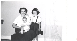 Mother, Cathy and baby Johnny