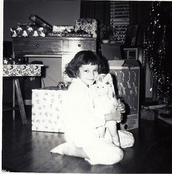 Baby First Steps and me Christmas 1965