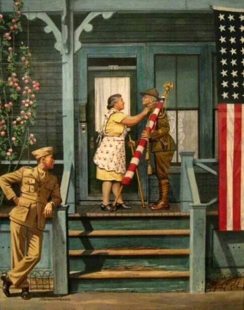 Norman Rockwell Memorial Day